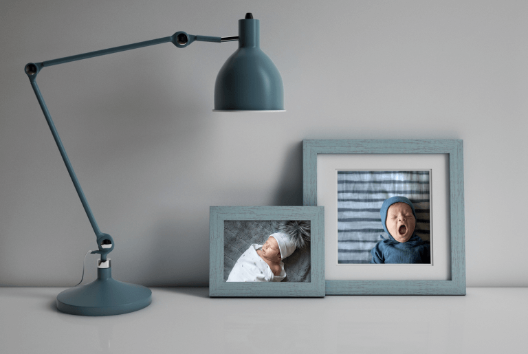 WHCC Distressed Frames in Light Blue, Photos: Sara Oberlander